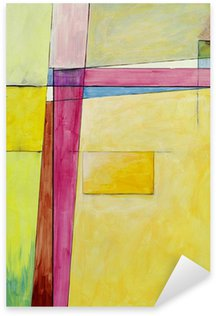 Autocolante Pixerstick an abstract painting