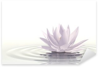 Autocolante Pixerstick Floating waterlily