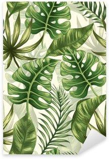 Autocolante Pixerstick Folhas padrão