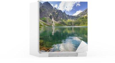 Autocolante para Frigorífico Beautiful scenery of Tatra mountains and lake in Poland