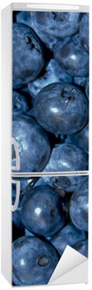 Autocolante para Frigorífico Blueberries