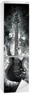 Autocolante para Frigorífico Electric Guitar