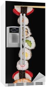 Autocolante para Frigorífico Maxi sushi, isolated on white background