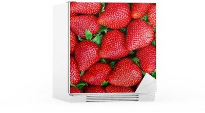 Autocolante para Frigorífico strawberries