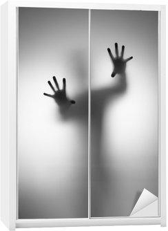 Autocolante para Roupeiro Ghosts Hand