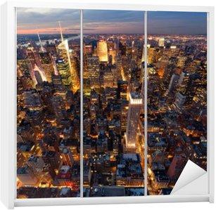 Autocolante para Roupeiro New York