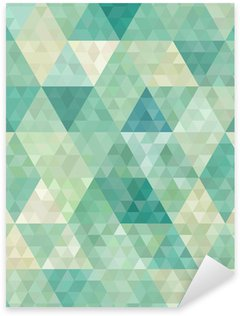Autocolante Pixerstick seamless background with abstract geometric ornament