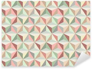 Autocolante Pixerstick Triangle seamless pattern 1