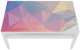 Farverig polygon Bord og Skrivbordfiner