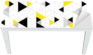 Geometrisk mønster baggrund Bord og Skrivbordfiner