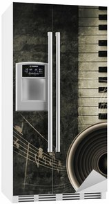 Buzdolabı Çıkartması Piyano