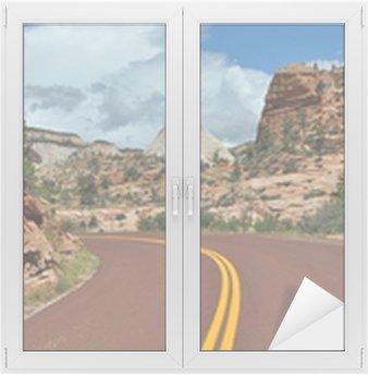 Cam ve Pencere Çıkartması Zion National Park