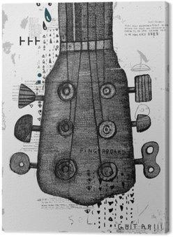 Canvas Гриф от гитары