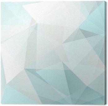 Canvas Abstracte driehoek achtergrond, vector
