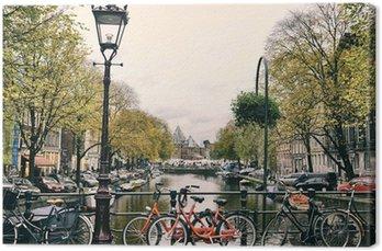Canvas Amsterdamse