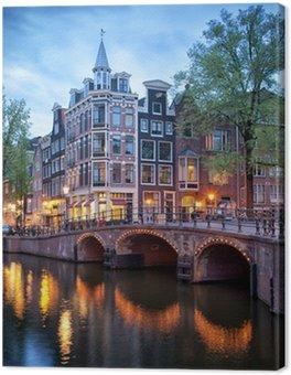 Canvas Avond in Amsterdam