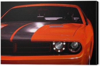 Canvas Begrip muscle car