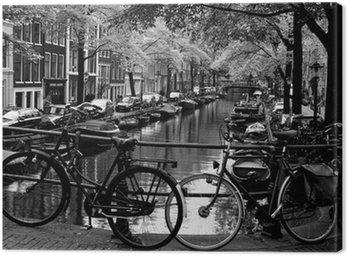 Canvas Bloemgracht d'Amsterdam