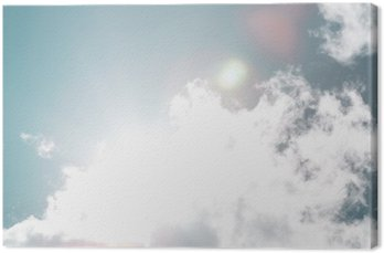 Canvas Blue-sky