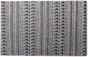 Canvas Breiwol close-up textuur