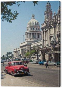 Canvas Capitolio Havana, Cuba