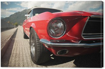 Canvas Classic Muscle Car
