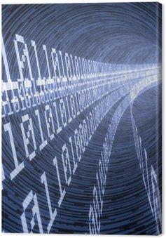 Canvas Digitale tunnel