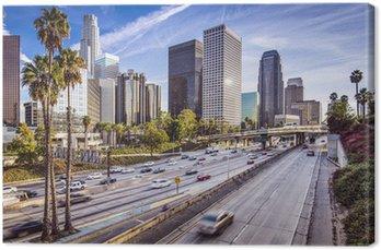 Canvas Downtown Los Angeles, Californië Cityscape
