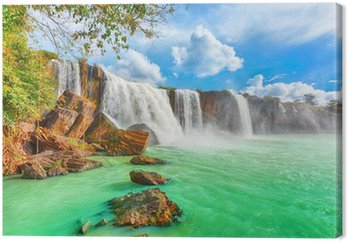 Canvas Dry Nur waterfall