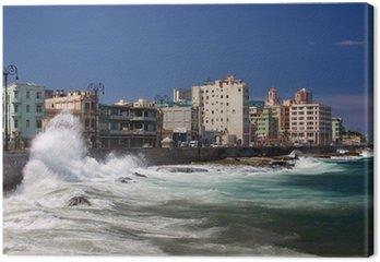 Canvas El Malecon, Havana