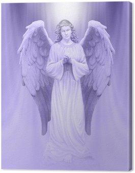 Canvas Engel van Goddelijk Licht