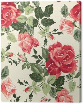Canvas Fancy rose behang