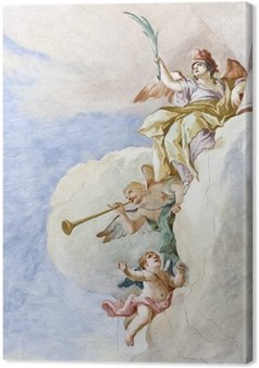Canvas Fresco Wieskirche