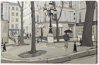 Canvas Furstemberg plein in Parijs