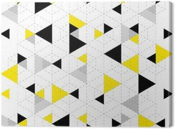 Canvas Geometrische patroon achtergrond