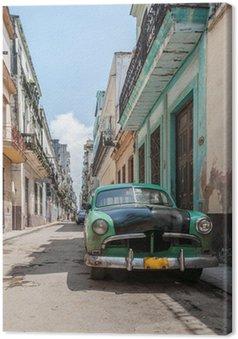 Canvas Havana oude school auto