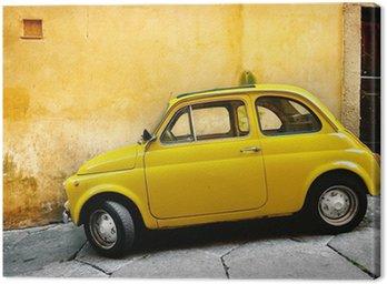 Canvas Italiaanse oude auto