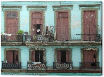 Canvas Koloniaal landhuis - havana