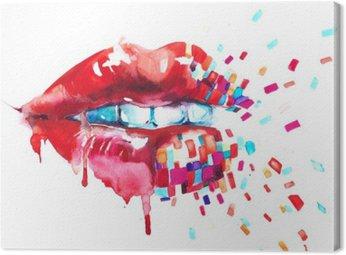 Canvas Lips