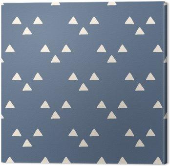 Canvas Naadloze Japanse patroon
