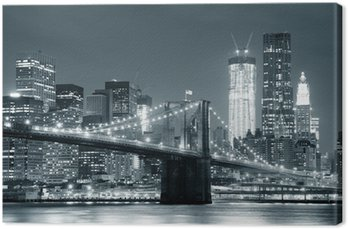Canvas New York Brooklyn Bridge