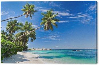 Canvas Paradijs op het strand