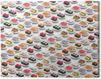 寿司 Canvas Print