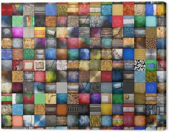 Canvas Print 225 fondi collage