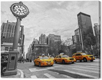 5th Avenue, New York City. Canvas Print