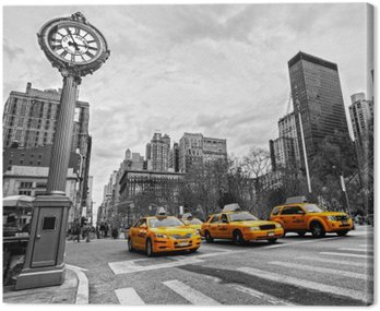 Canvas Print 5th Avenue, New York City.