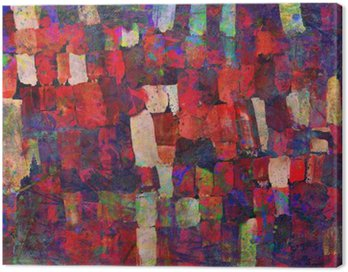 Canvas Print Abstract art painting