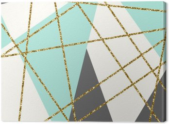 Canvas Print Abstract Geometric Composition