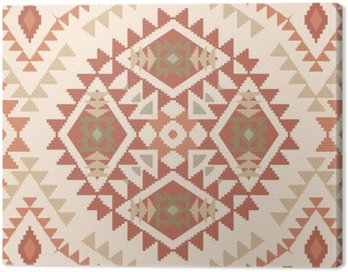 Abstract pattern in tribal navajo style