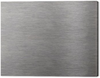 Aluminum surface Canvas Print